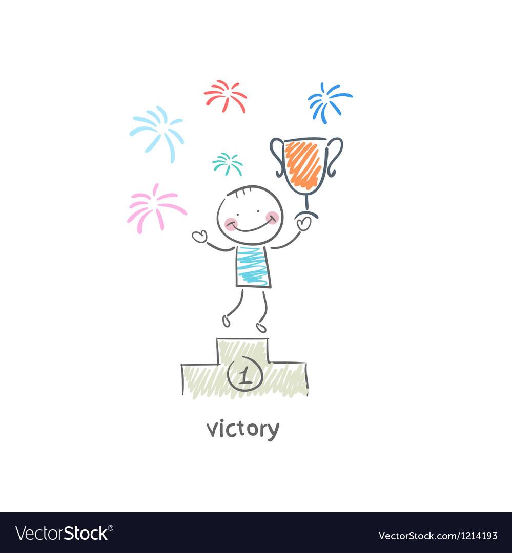 Winner vector | Price: 1 Credit (USD $1)