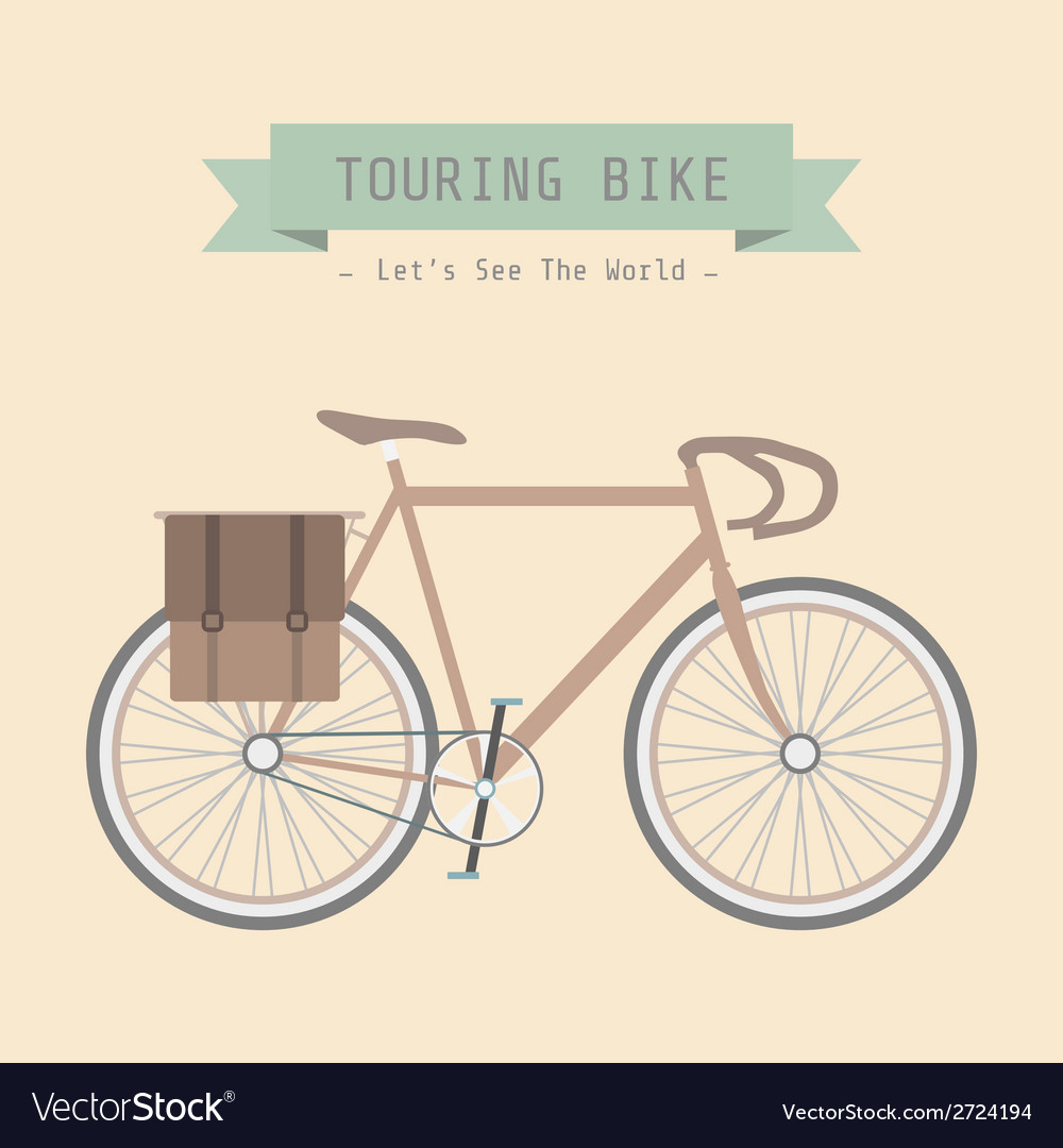10touringbike vector | Price: 1 Credit (USD $1)