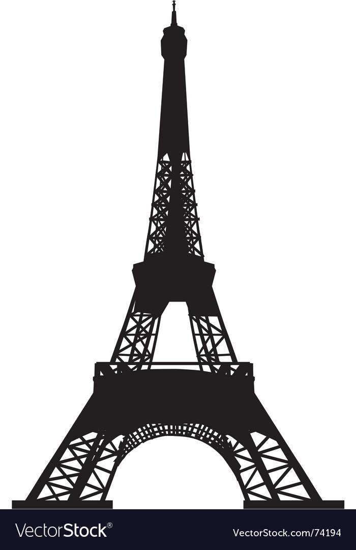 Eiffel tower vector | Price: 1 Credit (USD $1)