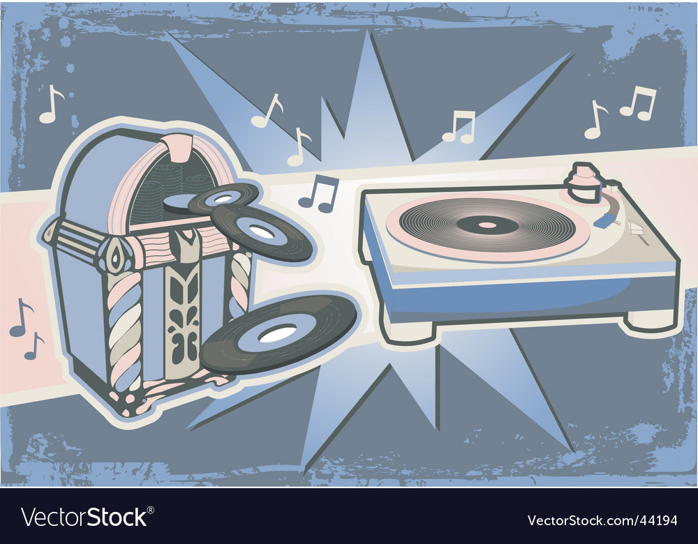Turntable vector   Price: 1 Credit (USD $1)