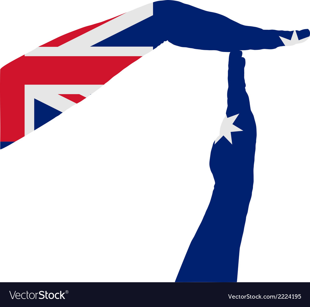 Australian timeout vector | Price: 1 Credit (USD $1)