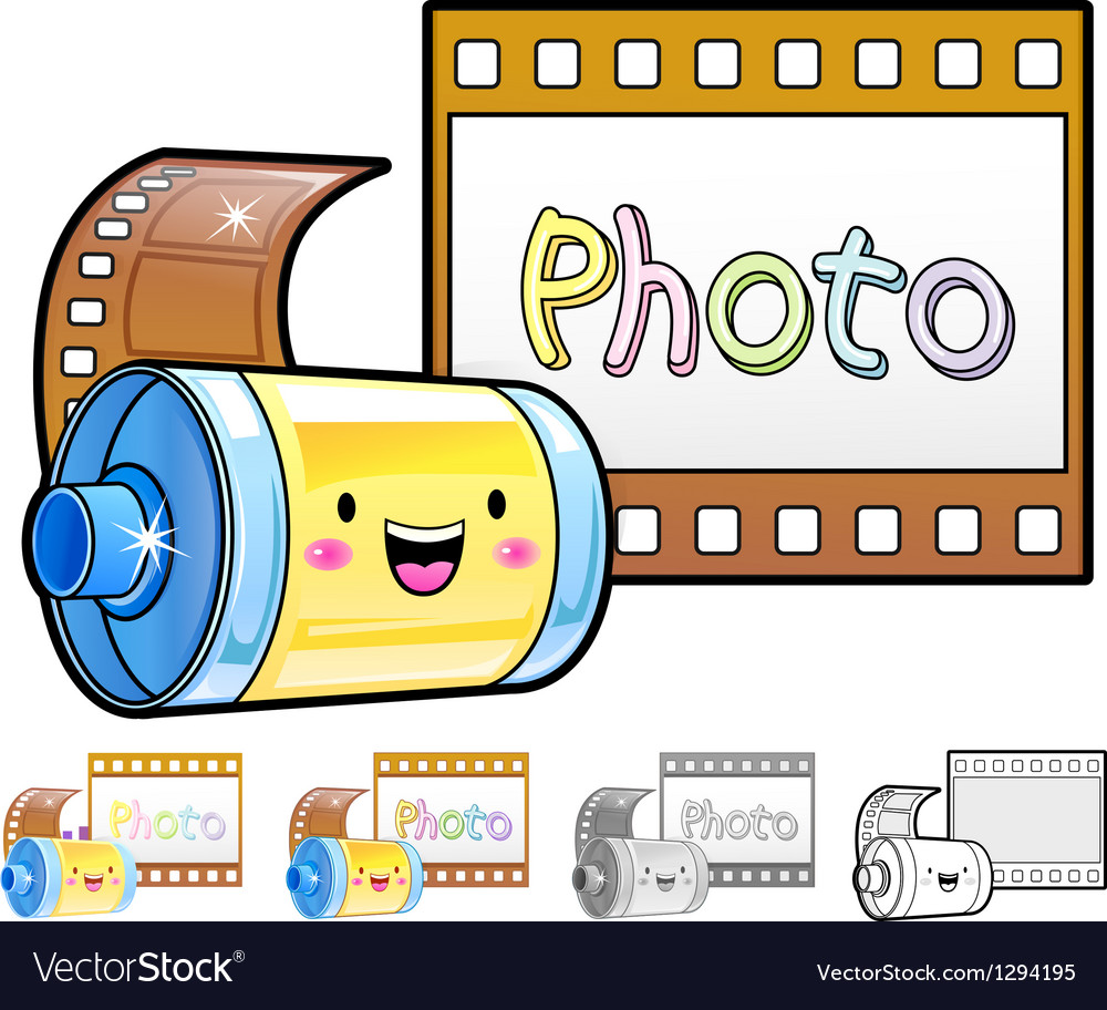 Different styles of film sets vector | Price: 1 Credit (USD $1)