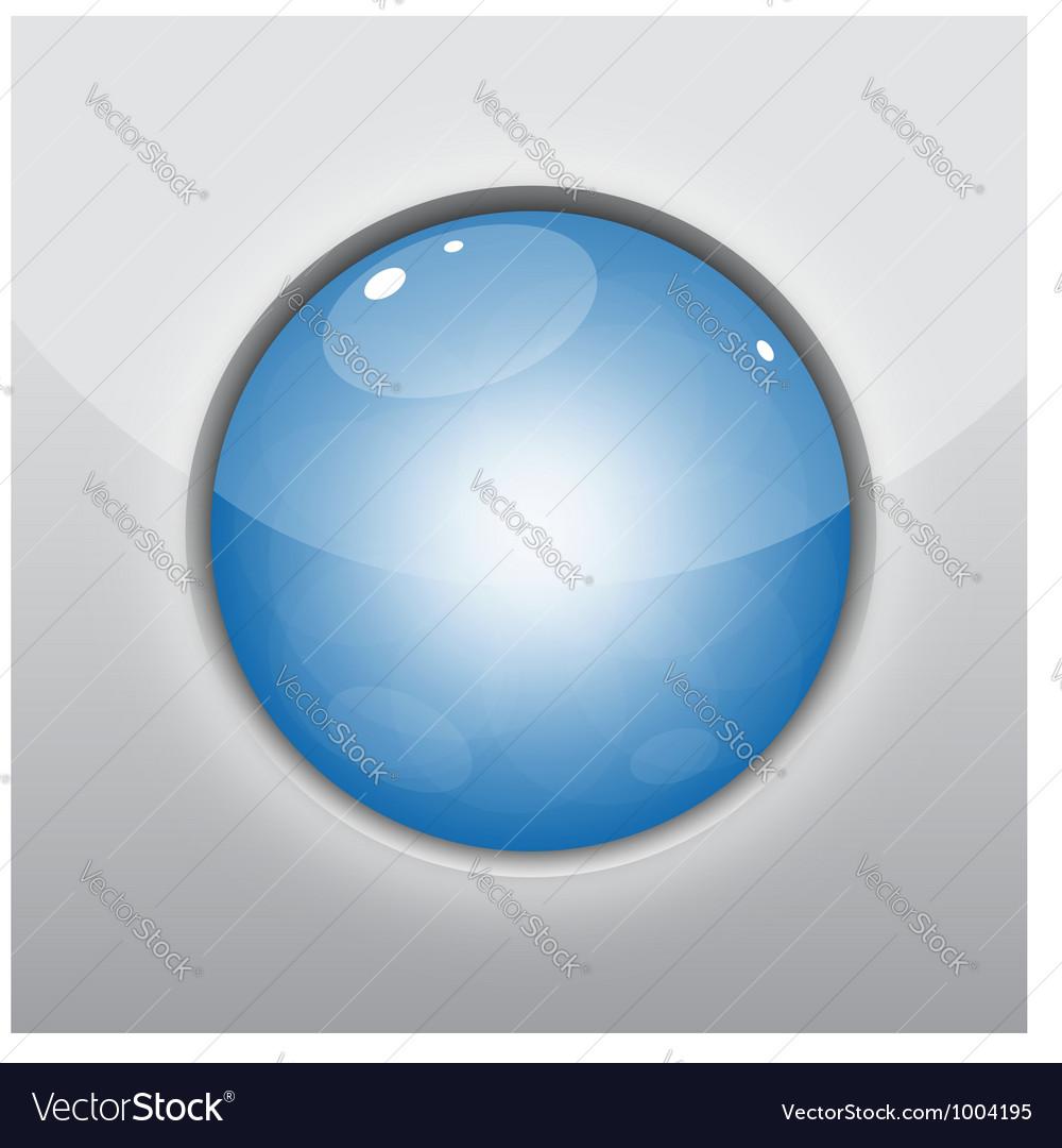 Glossy blue circle vector | Price: 1 Credit (USD $1)
