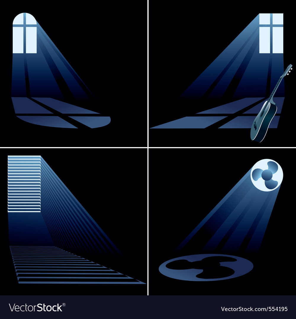 Light beams vector | Price: 1 Credit (USD $1)