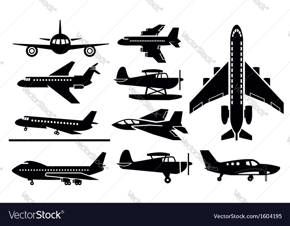 Planes icon vector | Price: 1 Credit (USD $1)