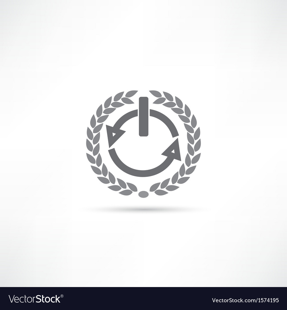 Power icon vector | Price: 1 Credit (USD $1)