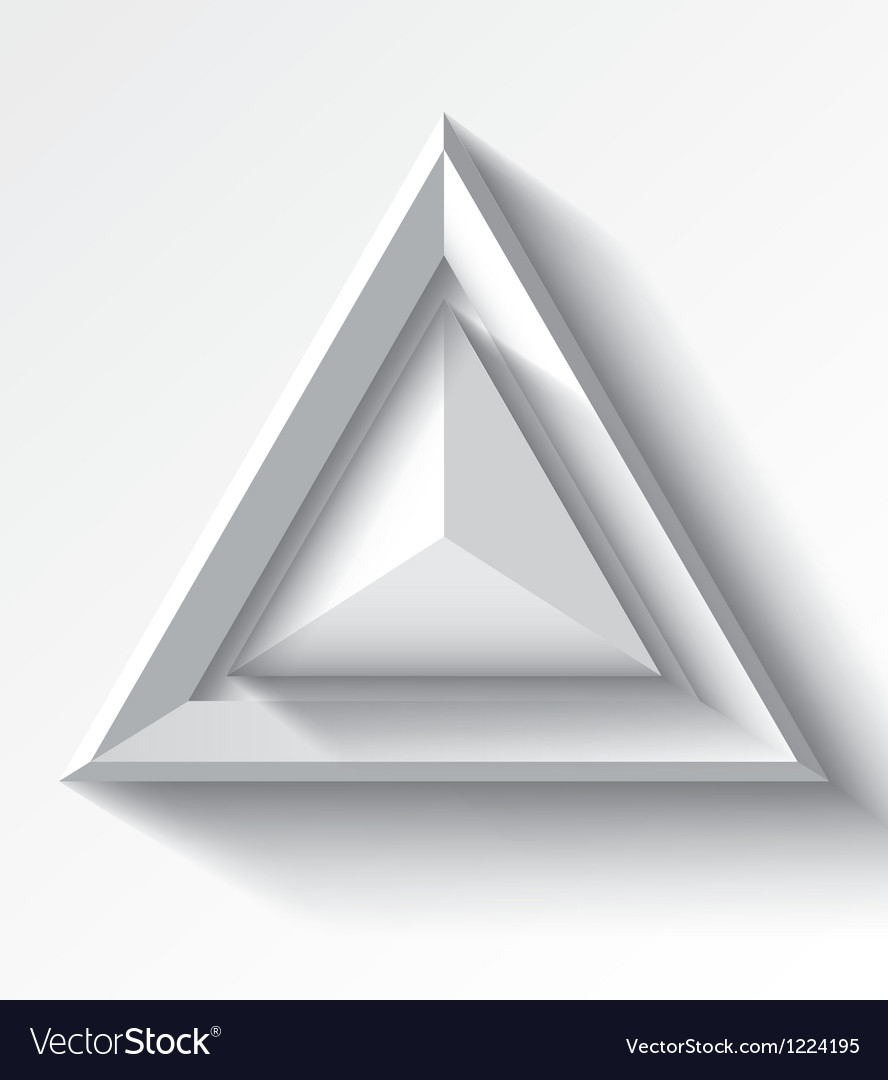 Realistic white geometrical background with vector | Price: 1 Credit (USD $1)
