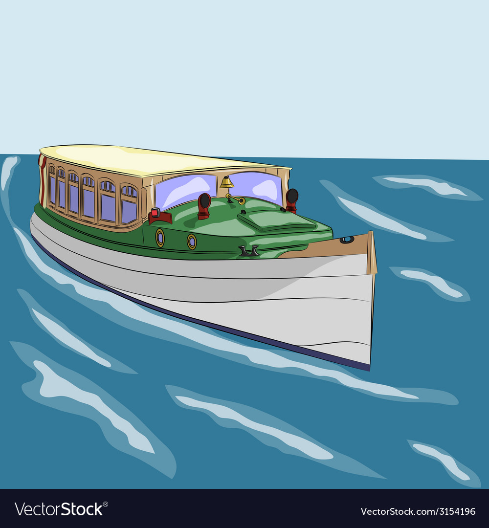 Boat vector | Price: 1 Credit (USD $1)