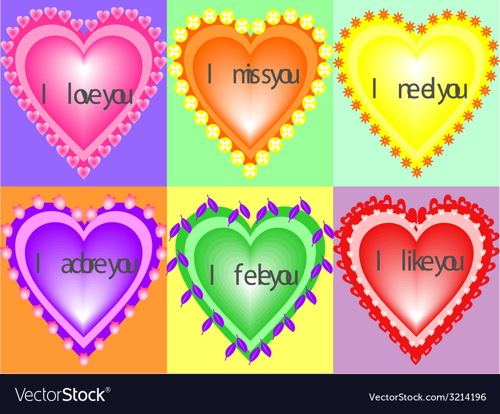 Feelings vector | Price: 1 Credit (USD $1)