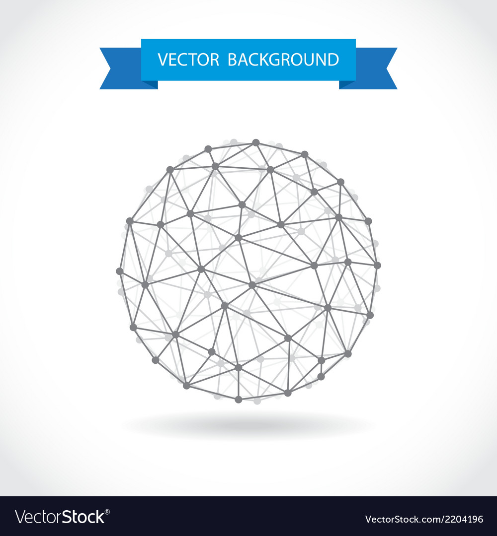 Molecular sphere vector | Price: 1 Credit (USD $1)
