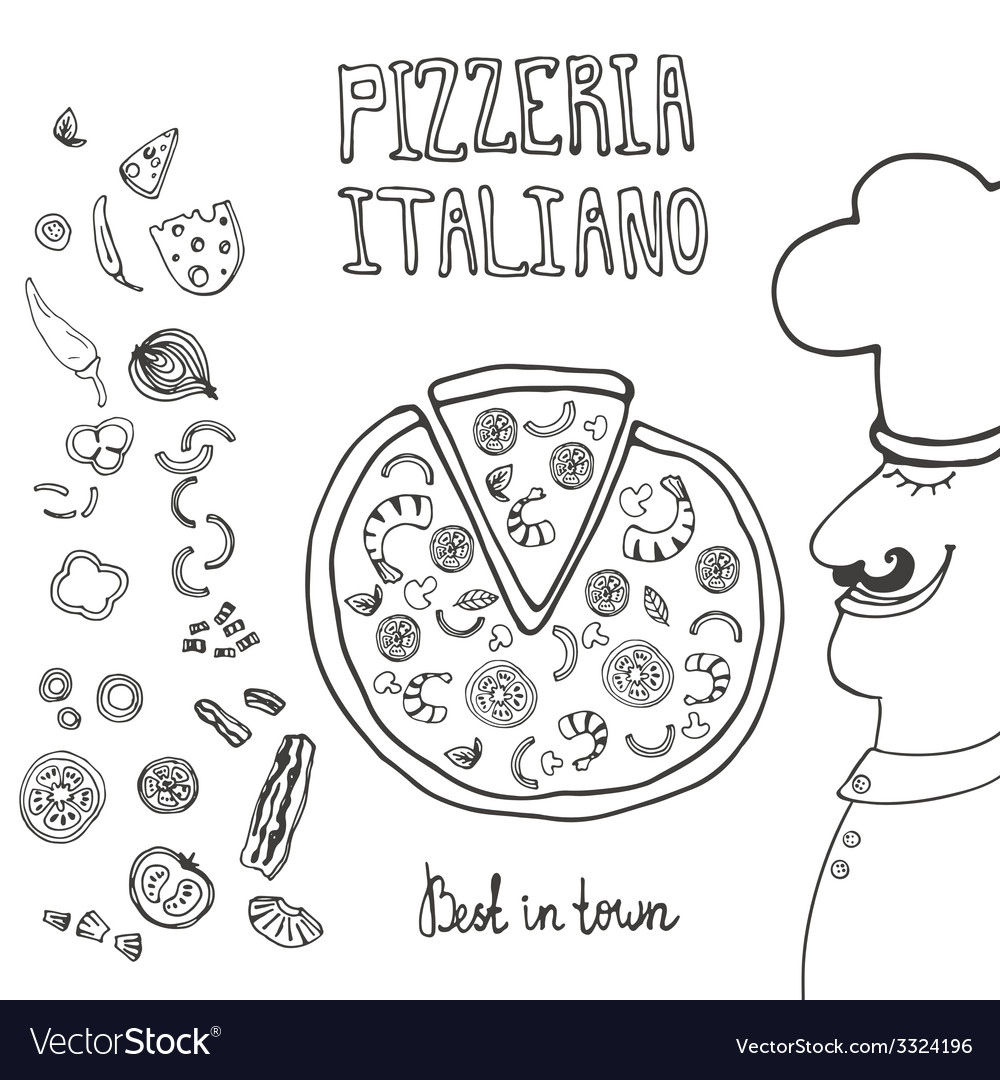 Pizzaitaliana6 vector | Price: 1 Credit (USD $1)