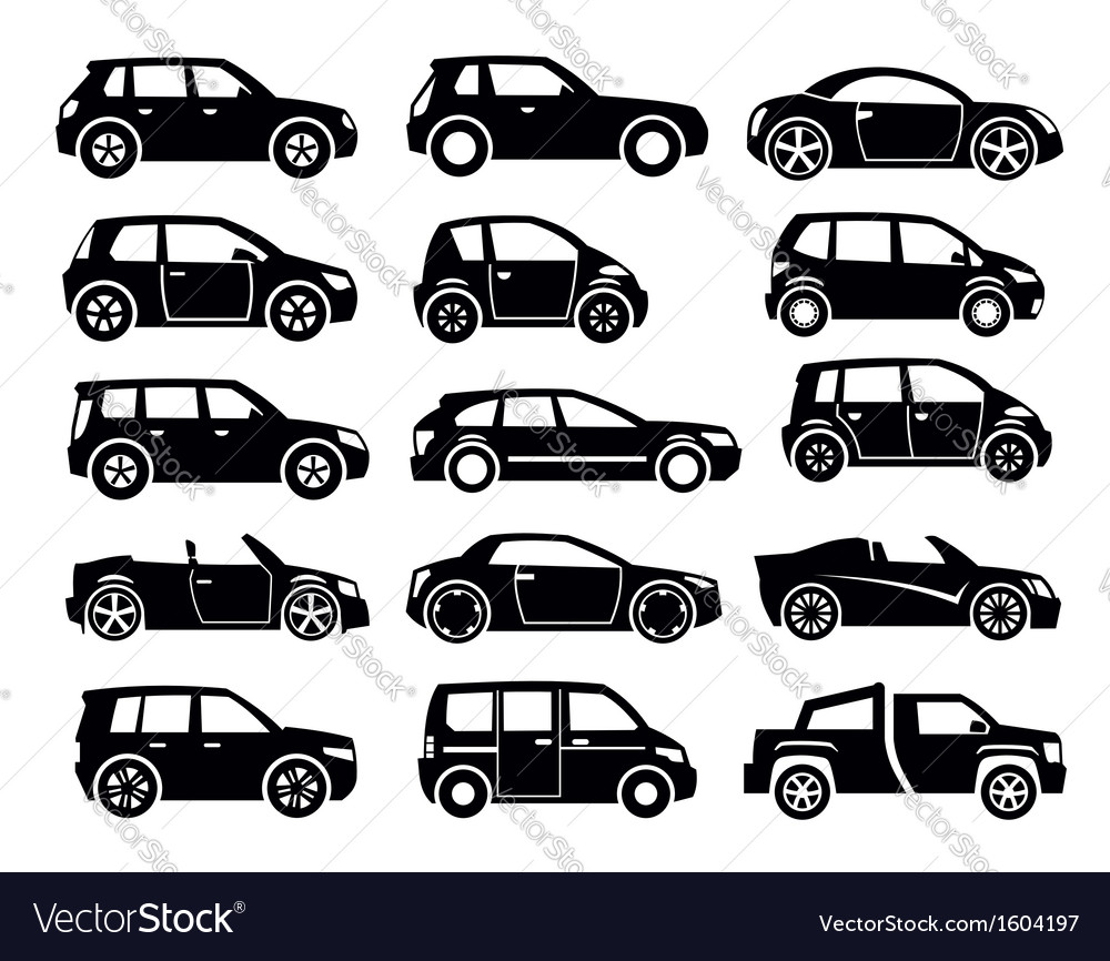 Auto icon vector | Price: 1 Credit (USD $1)