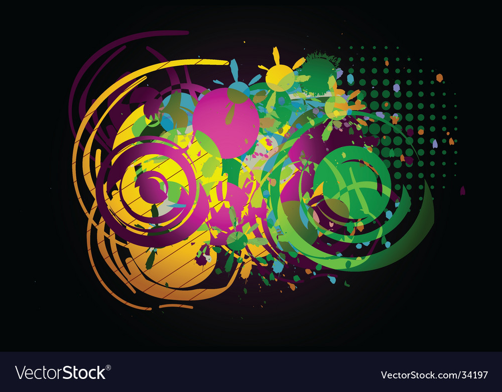 Live abstract vector | Price: 1 Credit (USD $1)