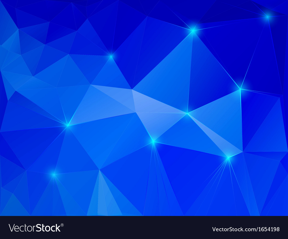 Abstract blue crystal background vector | Price: 1 Credit (USD $1)