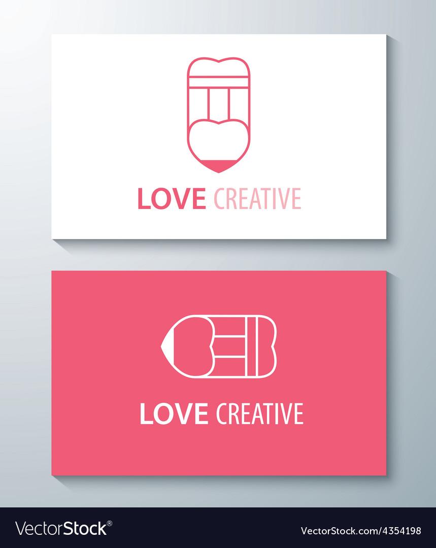 Love creative vector | Price: 1 Credit (USD $1)