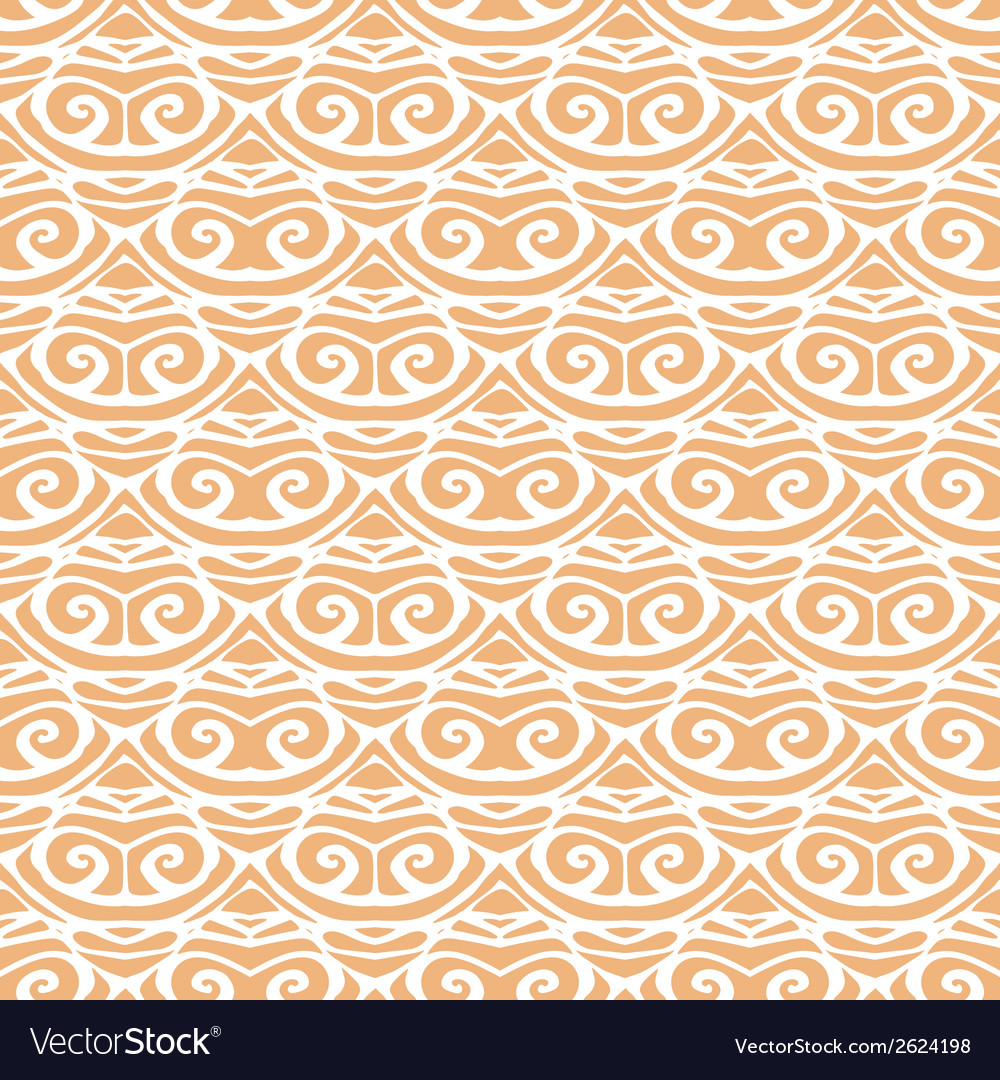 Seamless pattern with abstract geometric doodle vector | Price: 1 Credit (USD $1)
