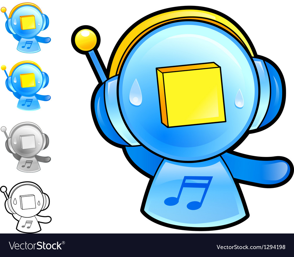 Various styles of play man character sets vector | Price: 1 Credit (USD $1)