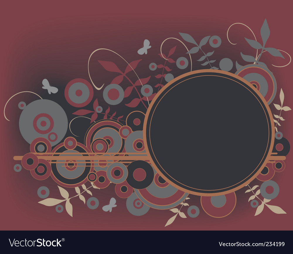 Circles element vector | Price: 1 Credit (USD $1)