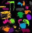 High quality paint textures set vector