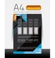 Abstract flyer brochure design template vector
