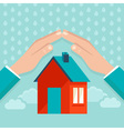 Protect house vector