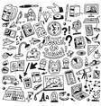 School education - doodles set vector