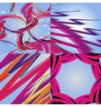 Set of colorful rainbow abstract background vector