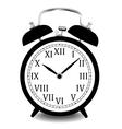 Realistic of wall clock vector