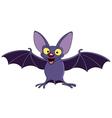 Bat with spread wings vector