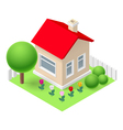 Isometric home vector