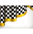 Checkered invitation background vector