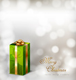 Green gifts vector