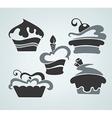 Cake symbols vector