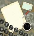 Writers desk vector