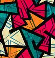 Urban geometric seamless pattern vector