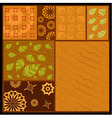 African abstract ornament vector