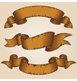 Decorative ribbon vector