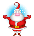 Cute christmas santa claus vector