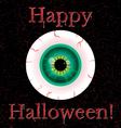 Happy halloween card vector