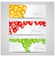 Banners with balloons vector