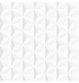 3d white geometric background vector