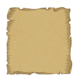 Aged scroll paper vector