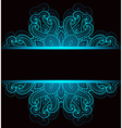 Black decorative background vector