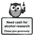 Alcohol research vector