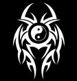Yin yang abstract vector