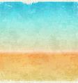 Vacation themed grungy background vector