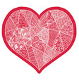 Heart design element background for cute cards on vector