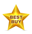 Best buy tag vector