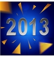 Christmas and 2013 new year background vector