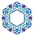 Ottoman motifs design series sixty eight vector